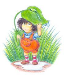 Стих про дождик для детей 3-4 года