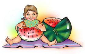 Сказка про арбуз для детей