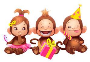 Новый год Обезьяны для младших школьников с героями. Сценарий