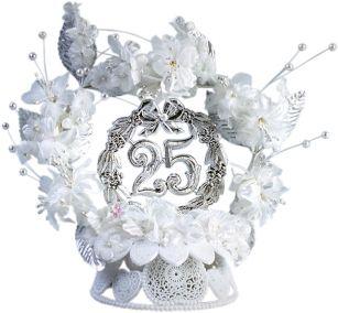 Поздравление к 25-летию свадьбы