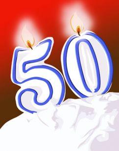 Поздравления с юбилеем 50 лет