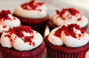 бархат кексы рецепт Красный