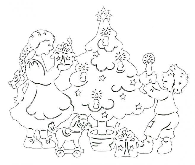 Шаблон для вырезание узора на Новый год Украшение Новогодней ёлочки.  Вернуться к. 12 декабря 2012.