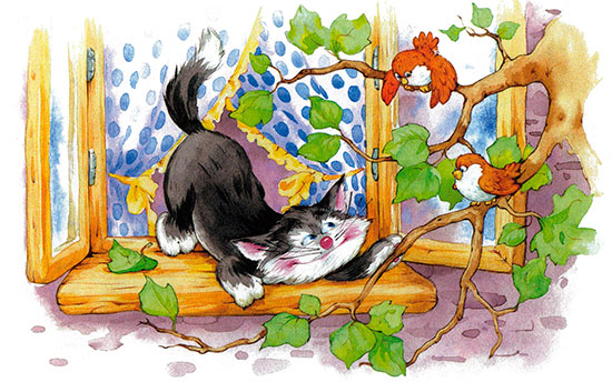 Загадки про домашних животных с
