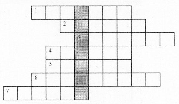 Изречение нравоучительного характера 9 букв кроссворд