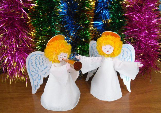 Как сделать ангелочка из бисера фото 271