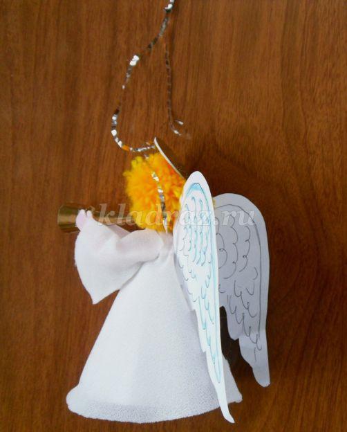 Ангел своими руками сделать