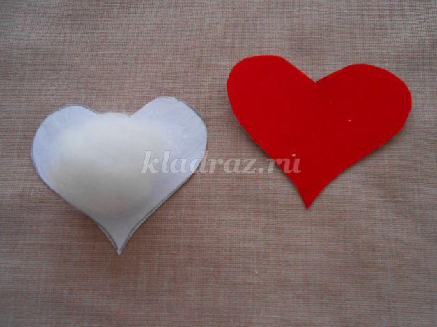 Открытка своими руками ко дню всех Влюблённых