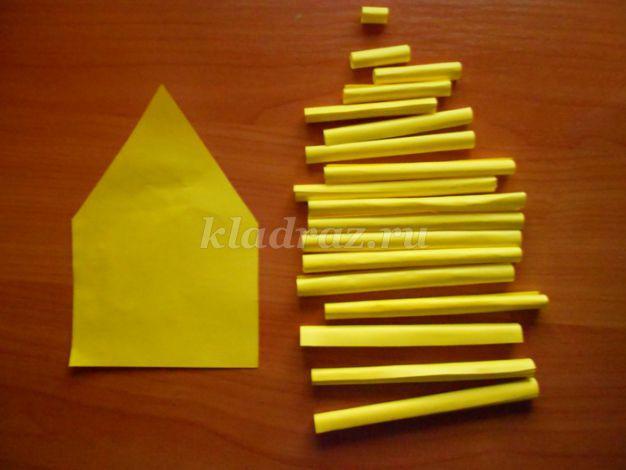 Поделки из трубочек и из бумаги 33