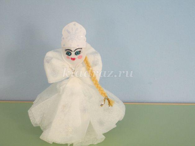 Поделка снегурочка своими руками фото