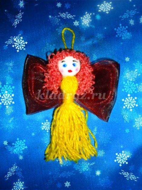 Рождественский ангелок своими руками фото 765