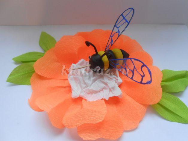 Поделка в садик пчела 38
