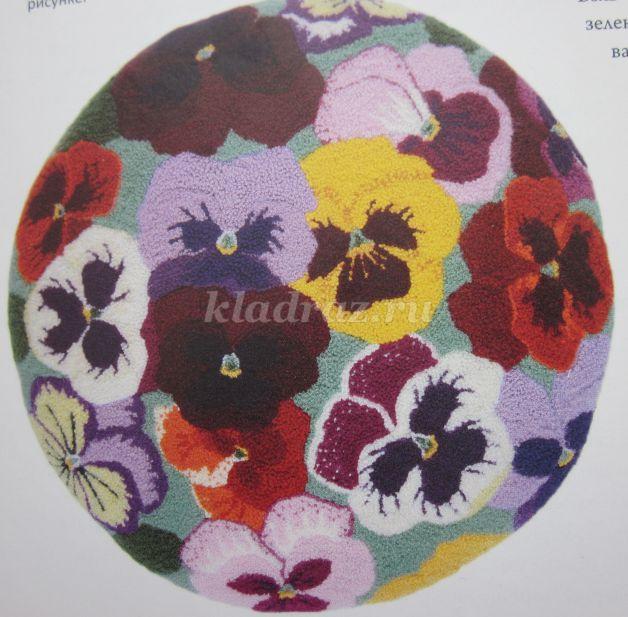 схема ковровой вышивки (на