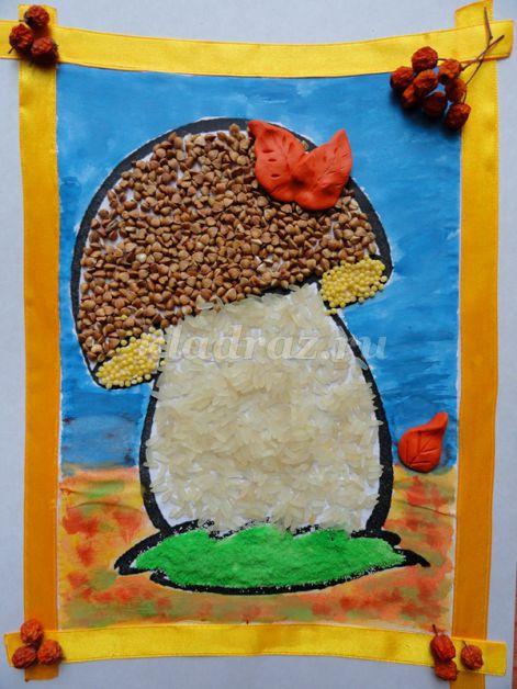 Картины своими руками для детского сада аппликация
