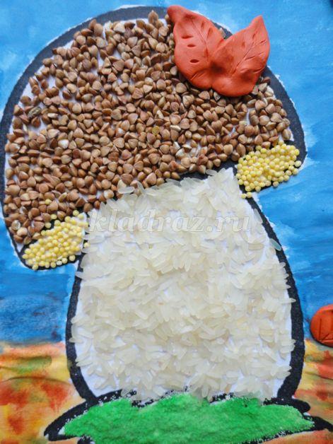 Поделки для детского сада из риса 19