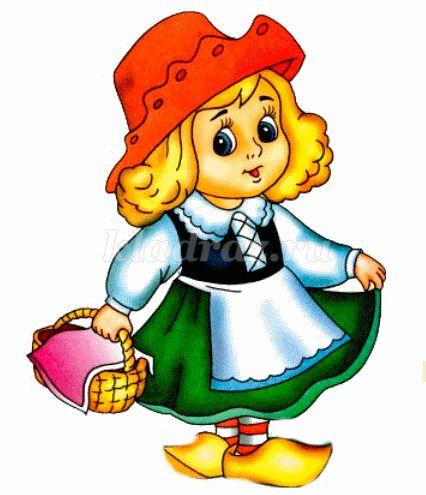 Бабушка и красная шапочка картинка