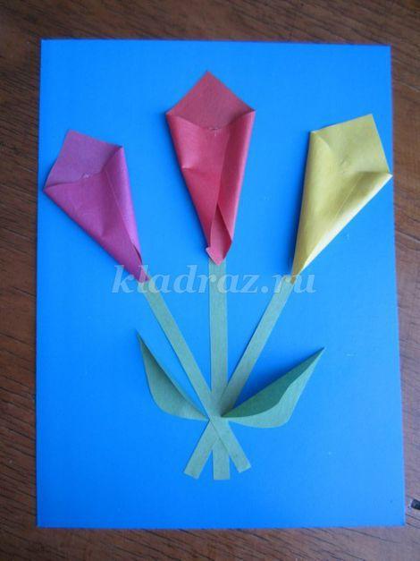 Как нужна сделать цветная бумага