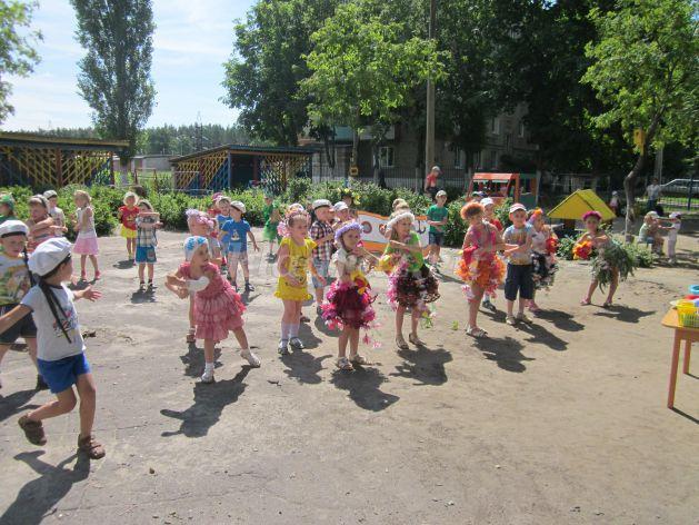 Сценарий летнего развлечения для детского сада