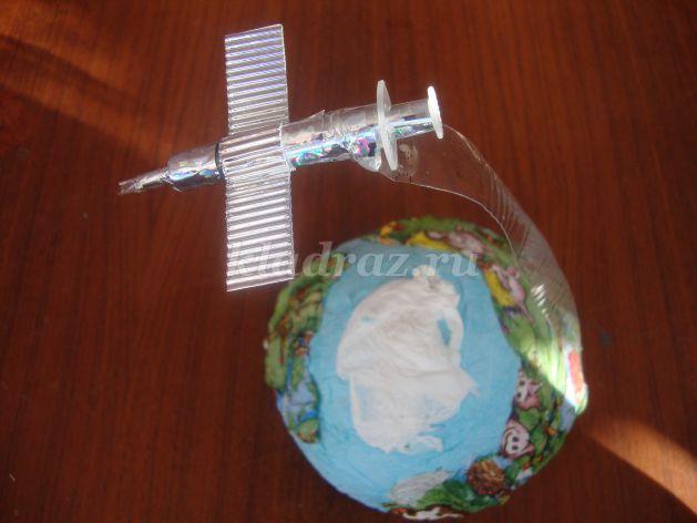 Поделки день космонавтики своими руками