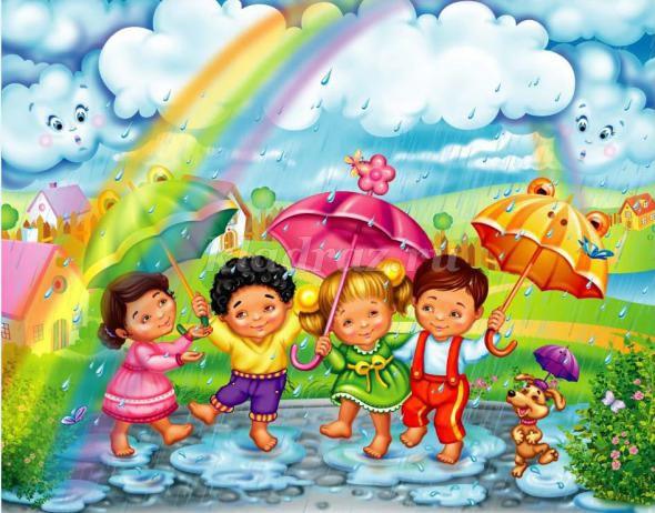 Картинки про лете для детей