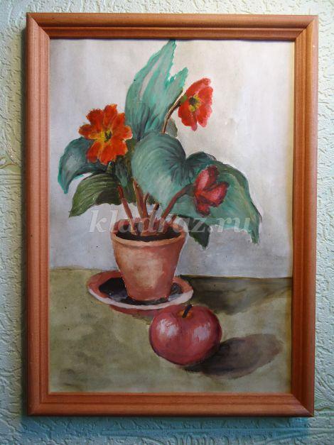 Мастер-класс Нины Крымовой: рисование натюрморта