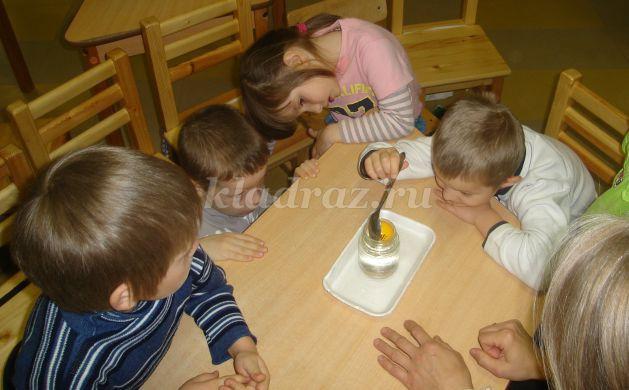 детей со свойствами воды