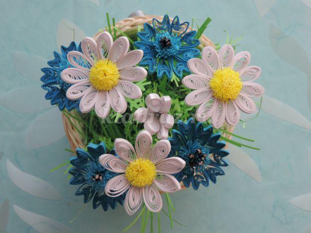 Цветы квиллинг мастер класс с пошаговым фото