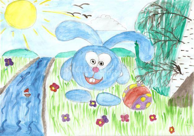 Детские картинки по теме лето
