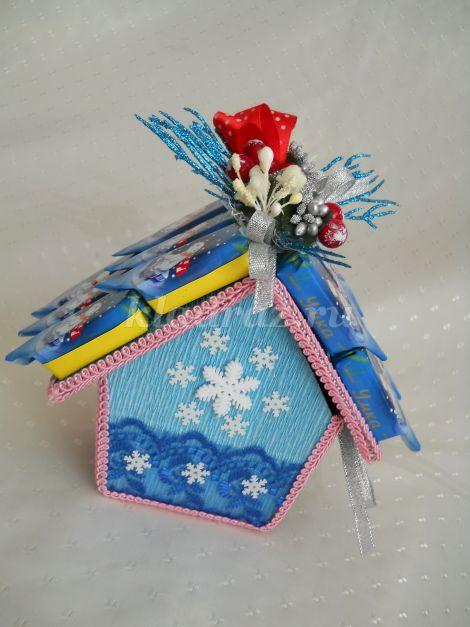 Коробка снежинка своими руками