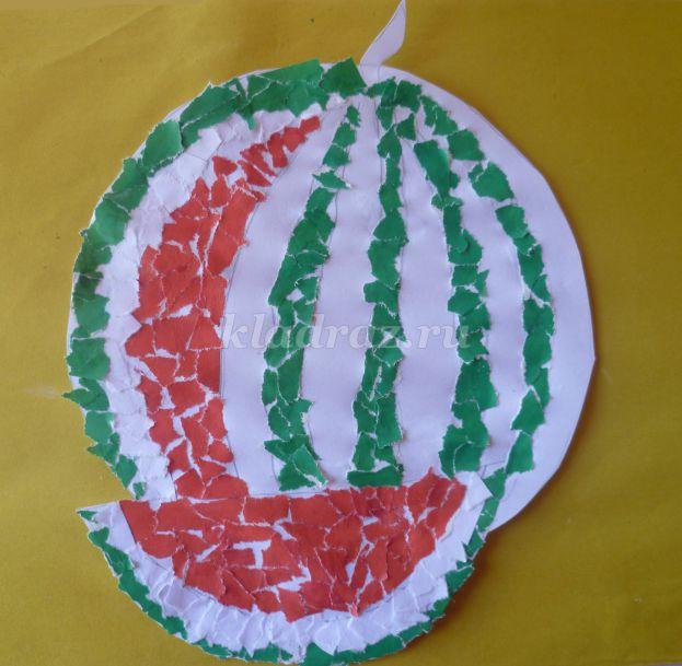 Поделка из арбуза своими руками для детского сада фото фото 888