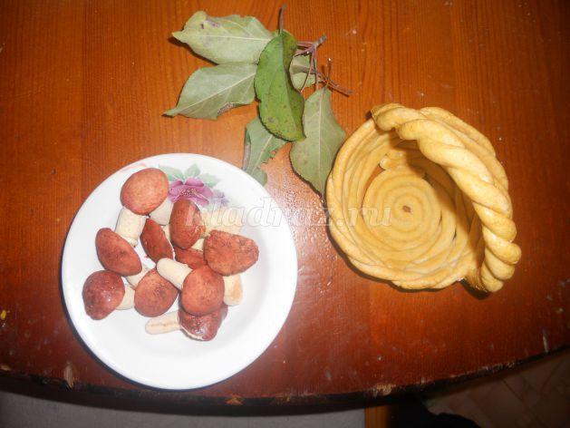 Поделки из природного кабачка