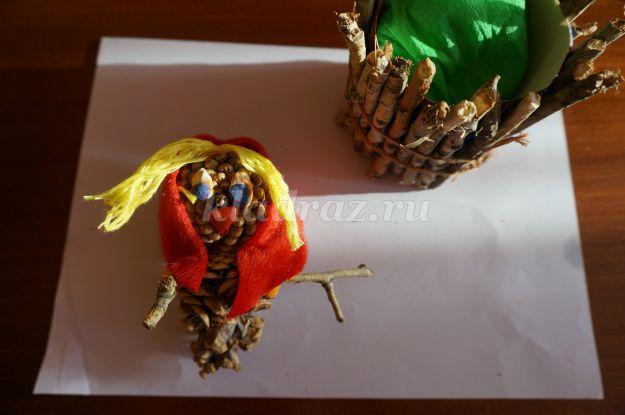 Поделки из листьев для 1 класса своими руками 11