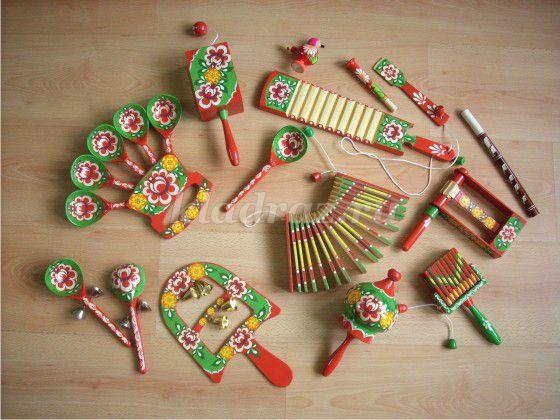Музыкальные инструменты своими руками с фото