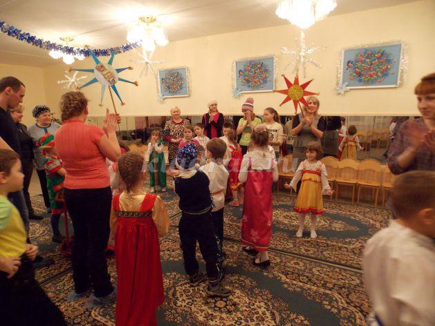 Сценарий зимний праздник в детском саду сценарий для