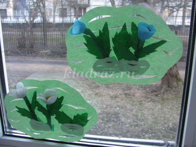 Весенний уголок в детском саду своими руками