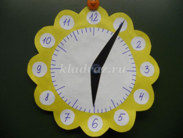 Макет часов своими руками фото