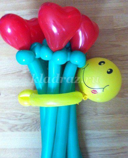 Букеты из шаров своими руками фото фото 323