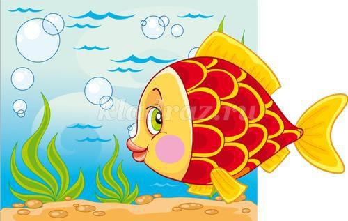 картинки для детей с рыбками