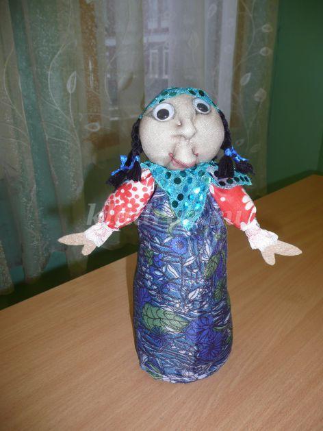 Кукла из поролона своими руками