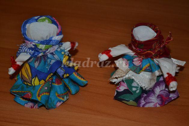 Тряпичные куклы оберег своими руками