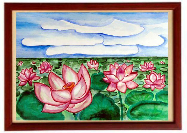рисунки цветов для детей 5 лет