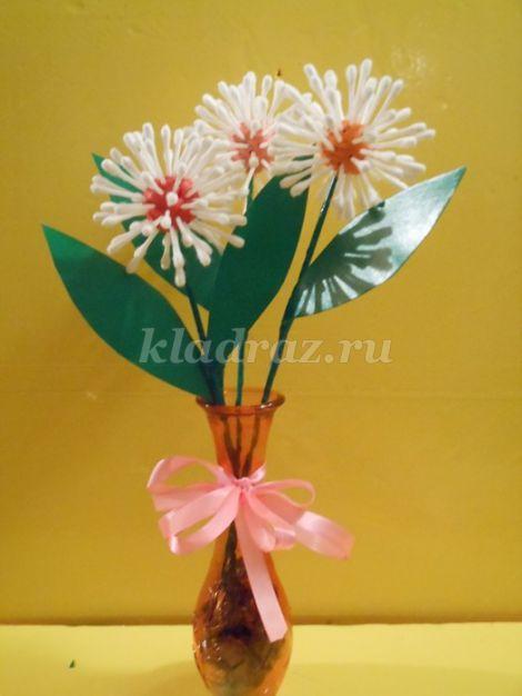 Красивые цветы из дисков 147