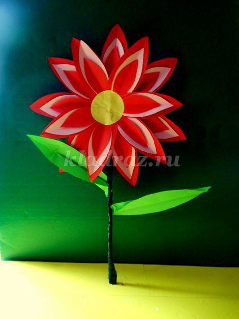 Объёмная аппликация из бумаги своими руками цветы фото 744