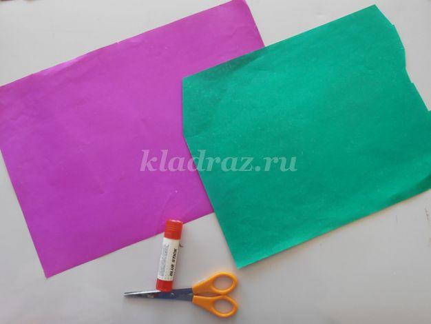 Изготовление тюльпана из бумаги своими руками