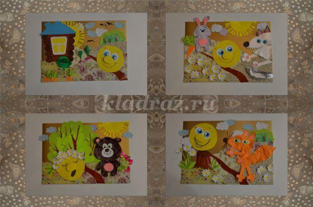 колобок картинки для детей цветные