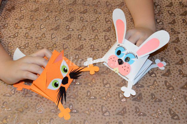 Котёнок из бумаги своими руками для детей