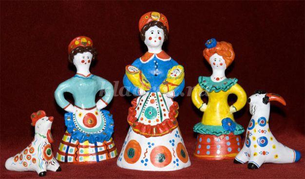 народные игрушки для детей знакомство
