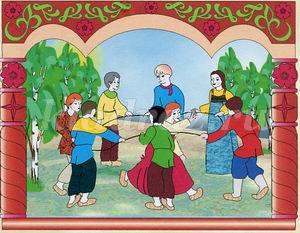 Картотека народных игр для детского