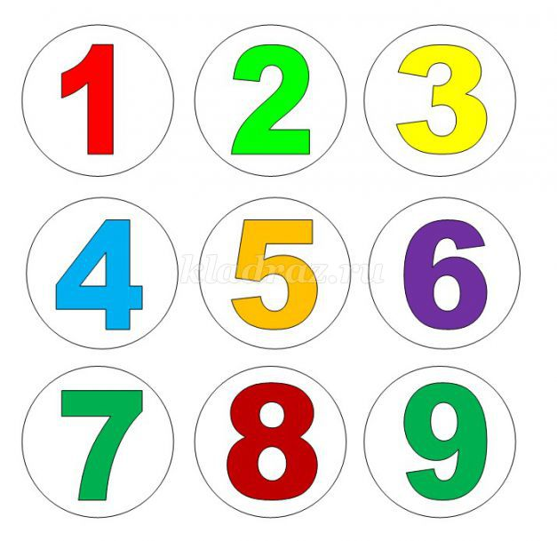 Про 1 от до 10 цифры картинки