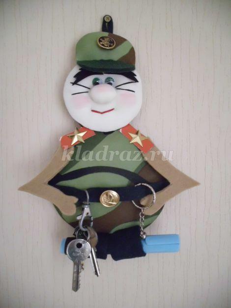 Солдат своими руками фото